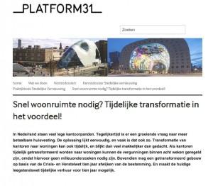 Platform31 september 2015